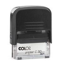 Штамп без крышки 47х18мм COLOP Printer C30 Compact