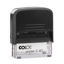 Штамп без крышки 59х23мм COLOP Printer C40 Compact