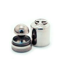 «МАТРЁШКА-брелок» d 30 мм (с подушкой) Оснастка круглая металлическая . OL-21 030 M